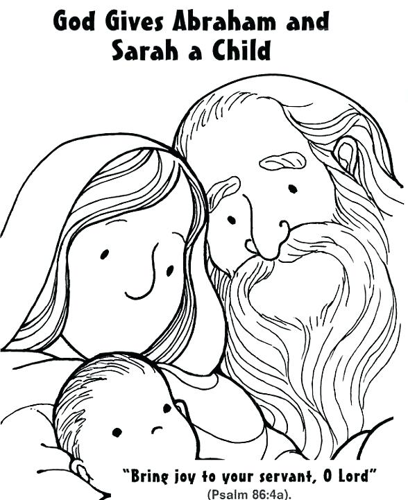 abraham and sarah coloring best for kids gives child good deeds to do family elsa colring coloring pages Abraham And Sarah Coloring Page