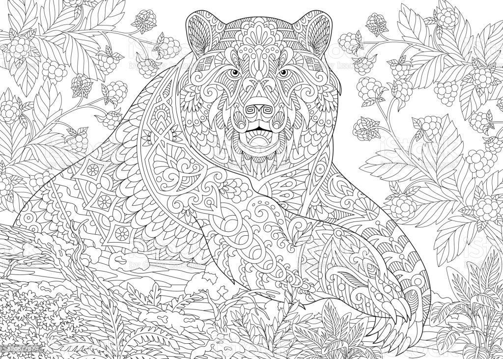 adult coloring illustrations clip art for adults supplies teachers thanksgiving bookmark coloring pages Coloring Page For Adults