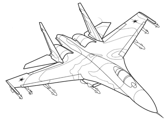 airplanes coloring images free printable aircraft raskrasil complementary color activity coloring pages Aircraft Coloring Page