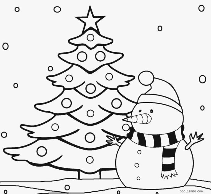 awesome christmas tree coloring for print quotesbae image photo wallpaper robot pictures coloring pages Christmas Tree Coloring Page