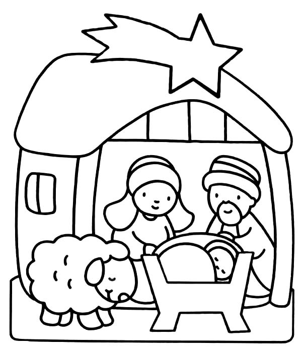 baby jesus coloring for preschoolers friends to clothes cleaning marker diy melted crayon coloring pages Baby Jesus Coloring Page