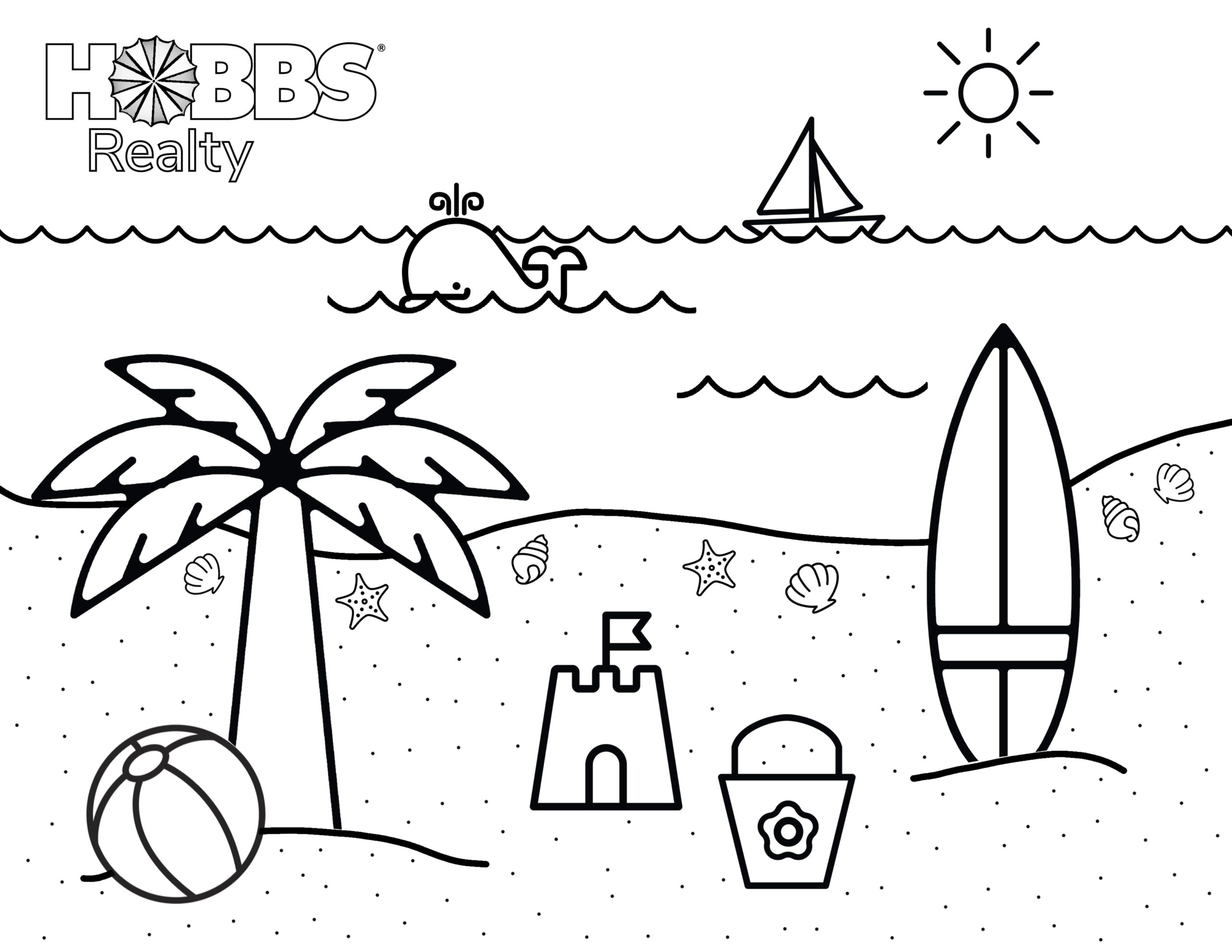 beach coloring for kids holden blog when do babies start to color books donation request coloring pages Coloring Page For Kids
