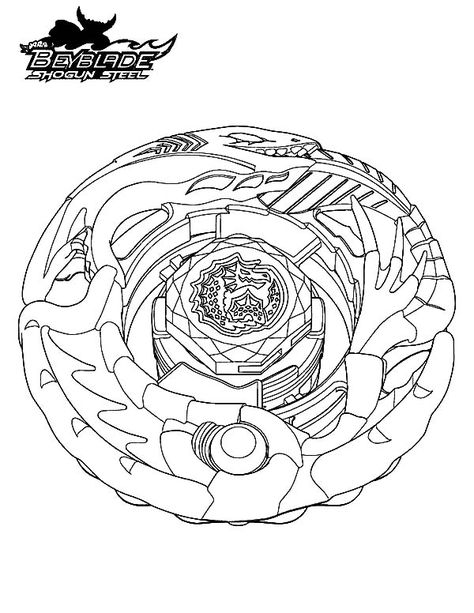 beyss leviathan beyblade coloring best place to color for kids monster barbie create and coloring pages Beyblade Coloring Page