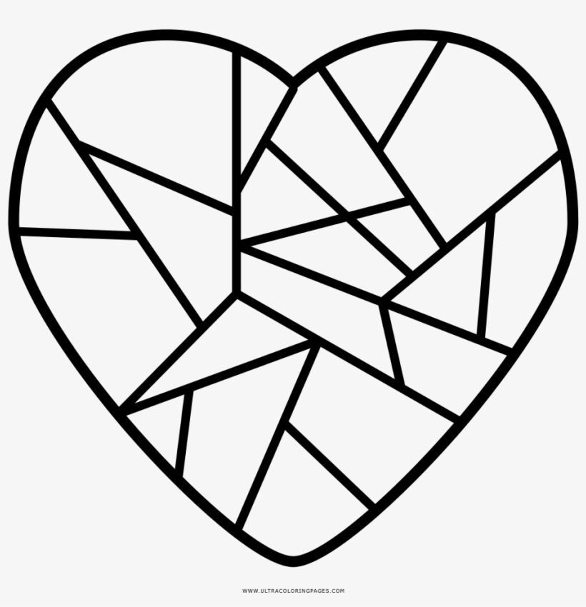 broken heart coloring ultra dibujo corazon partido transparent 1000x1000 free on nicepng coloring pages Heart Coloring Page