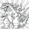 burning godzilla coloring pesquisa google for kids the snowy owl scoop dimensions of coloring pages Godzilla Coloring Page