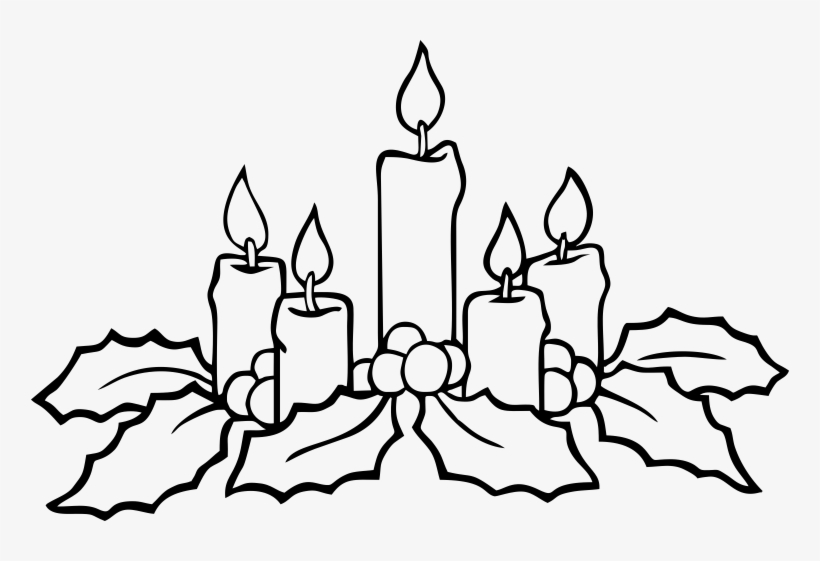 christmas advent wreath coloring candles to color transparent 758x481 free on nicepng coloring pages Advent Wreath Coloring Page