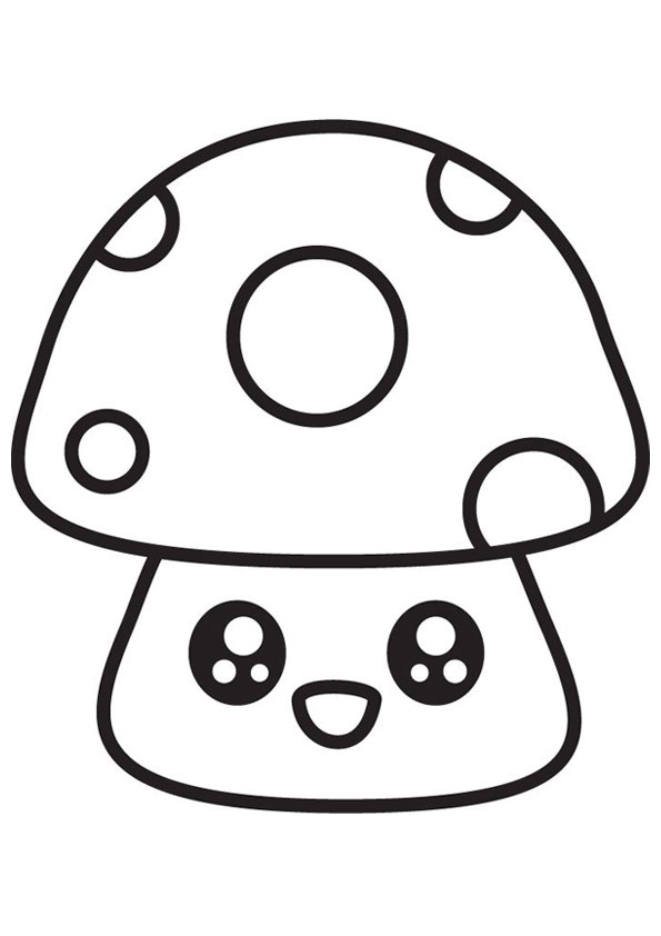 coloring cute mushroom printable train color sheets turnaround arts initiative flowers to coloring pages Mushroom Coloring Page
