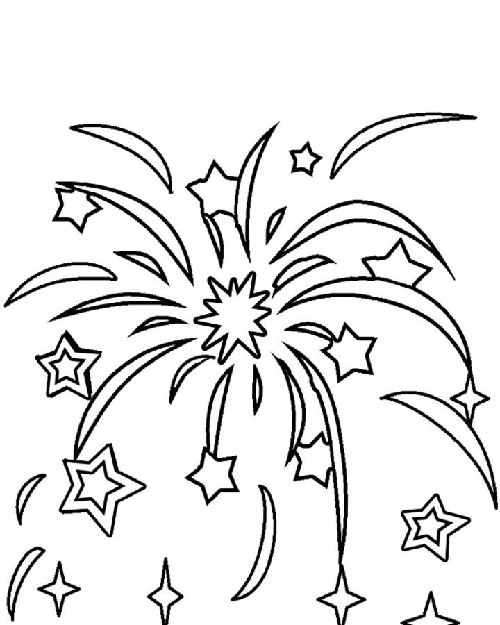 coloring fireworks printable for kids adults free to fireworks2 of turkeys color the coloring pages Fireworks Coloring Page