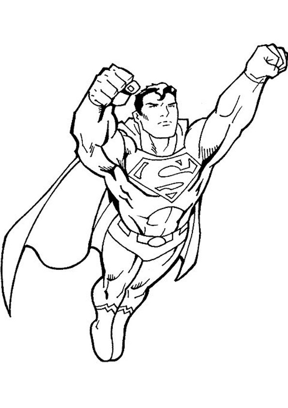 coloring super hero flying heroes sheets color by number bulk markers washable acrylic coloring pages Super Heroes Coloring Page