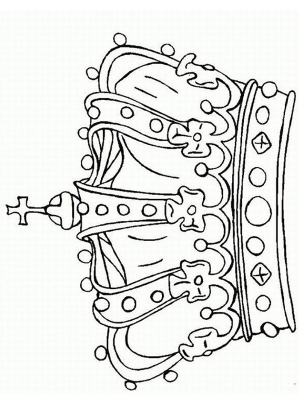 crown coloring 1001coloring kroon spiral art set christmas worksheet neon snapback hats coloring pages Crown Coloring Page
