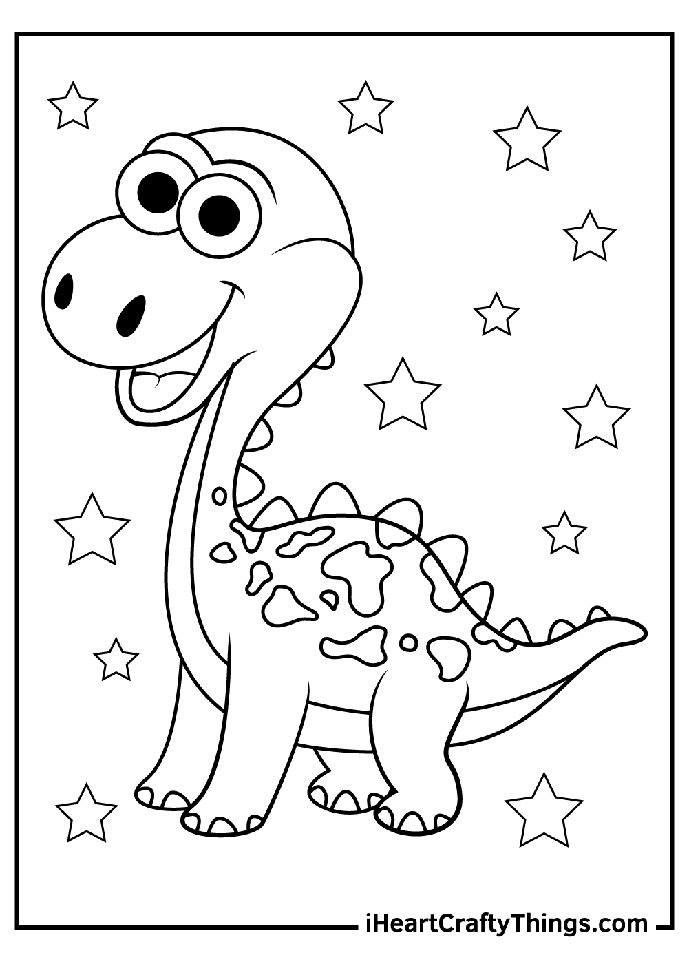 cute dinosaurs coloring updated baby dinosaur crayola watercolor paint for little kids coloring pages Baby Dinosaur Coloring Page