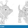 dachshund colouring stock illustrations vectors clipart dreamstime coloring pig dog coloring pages Dachshund Coloring Page