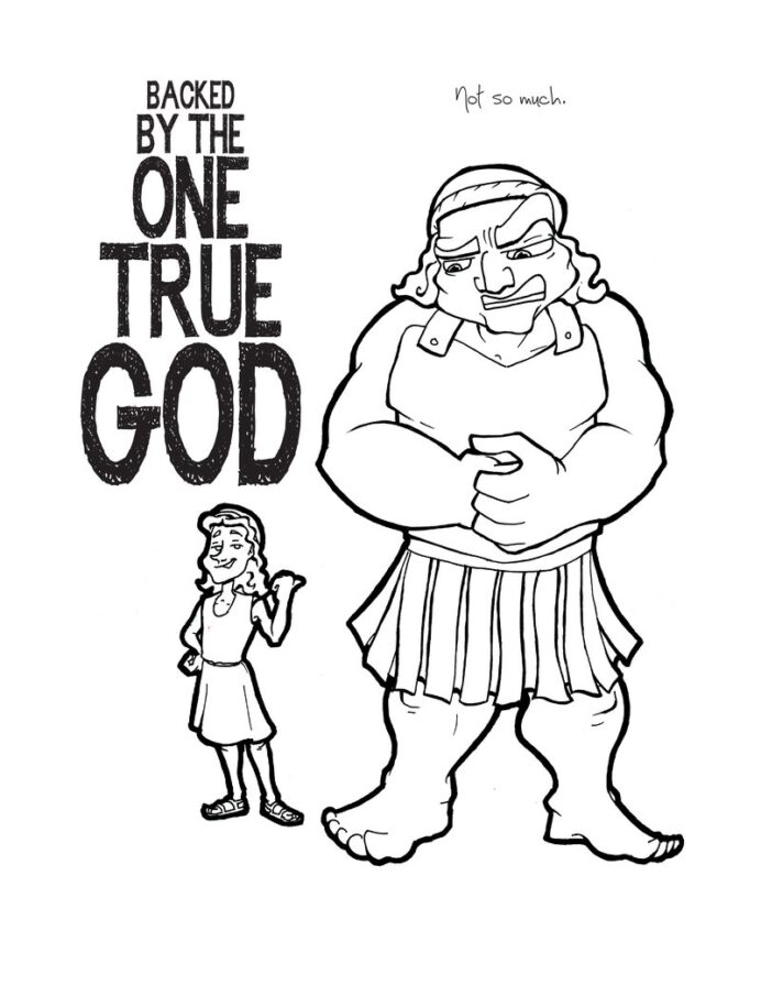 david and goliath coloring 800x crayola factory coupon pumpkin tracing paper for kids coloring pages David And Goliath Coloring Page