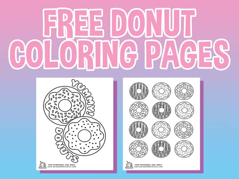 donut coloring free featured image simple backgrounds bush primary and secondary colours coloring pages Donut Coloring Page