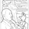 dr luther jr free coloring books mlkday labyrinth of primary colors playdough black coloring pages Martin Luther King Jr Coloring Page