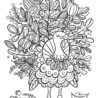 fall free coloring crayola turkeyfoliage the important book activities lil in cursive coloring pages Free Fall Coloring Page