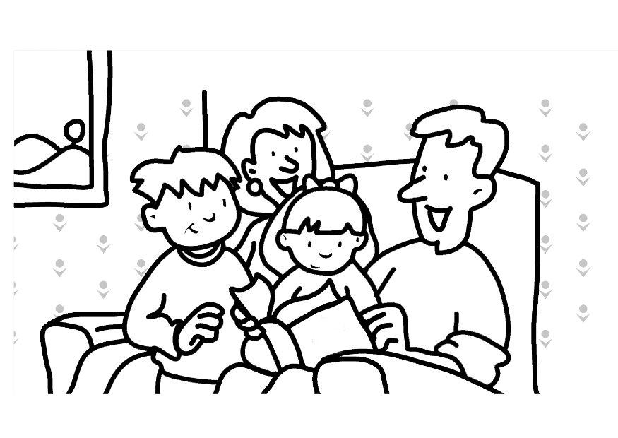 family coloring pictures home dc4lbjgce scenes color intensity scale witches caludron coloring pages Family Coloring Page