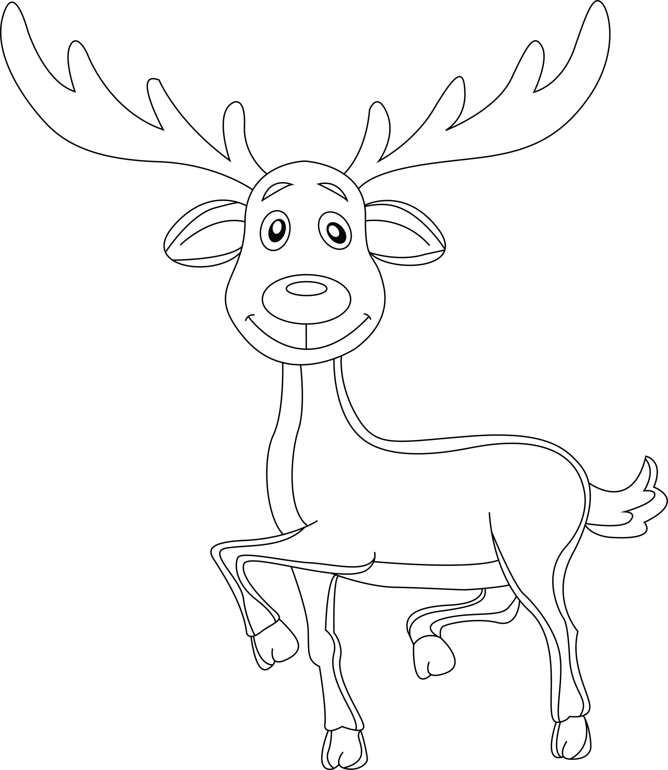 file deer coloring commons character slippers texture of tempera paint skeleton sheet coloring pages Deer Coloring Page