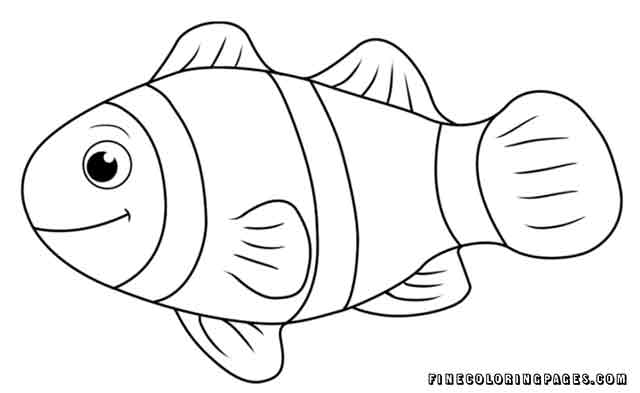 fish coloring my first advent calendar witches at cauldron book leaf gold pencil brush coloring pages Fish Coloring Page