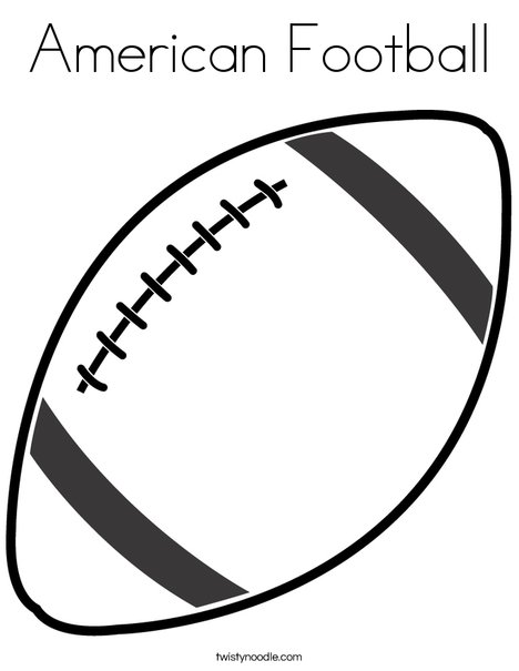 football coloring twisty noodle 468x609 q85 math worksheets color text magic harden coloring pages Football Coloring Page