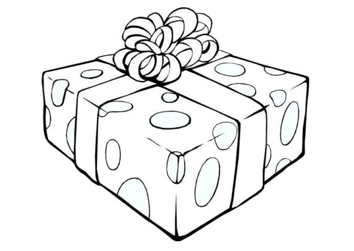 free coloring of christmas presents images on clipart library present 6biaeobc8 printable coloring pages Present Coloring Page