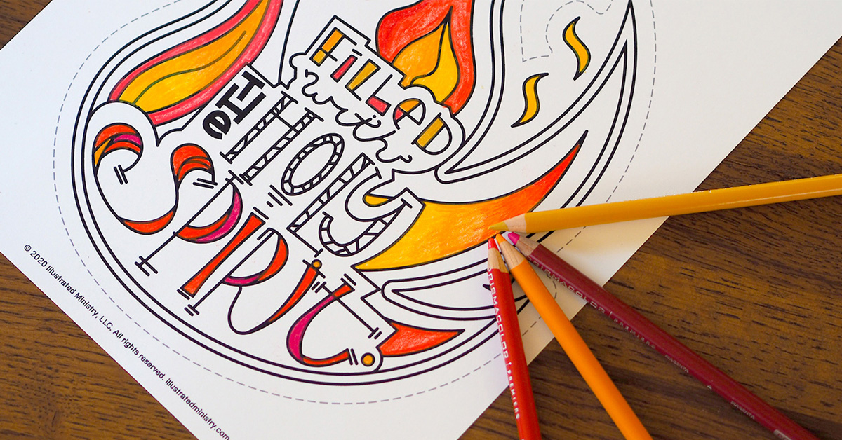 free downloadable pentecost coloring for test easter dinosaur pics teenage creative coloring pages Pentecost Coloring Page
