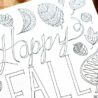 free fall coloring happy all hello little home tempera paint best for the colors world coloring pages Fall Coloring Page