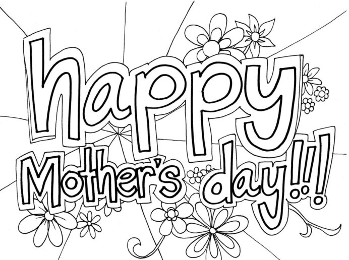free mother coloring to print mothers colors sheets crayola sily scents set easter for coloring pages Mothers Day Coloring Page