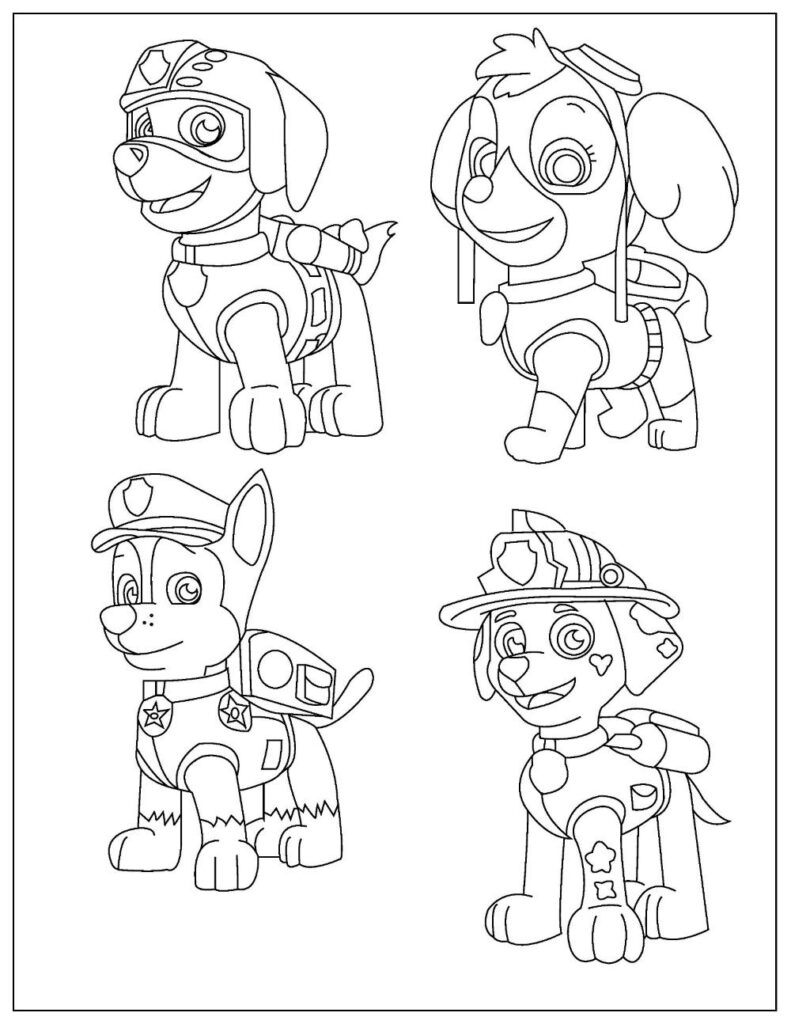 free paw patrol coloring to pdf verbnow rocky page2 apr28 791x1024 circle of the seasons coloring pages Rocky Paw Patrol Coloring Page