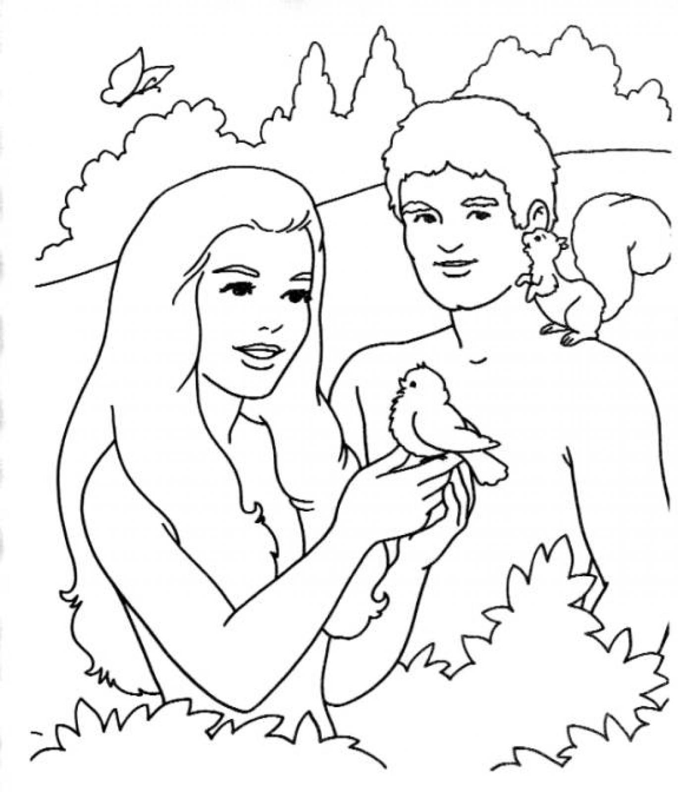 free printable adam and eve coloring for kids best pink crayon heart shade drawing ice coloring pages Adam And Eve Coloring Page