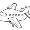 free printable airplane coloring for kids stain edge of tile snowflake lesson plans coloring pages Airplane Coloring Page