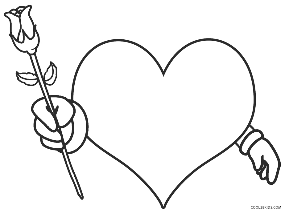 free printable coloring for kids hearts and rubyglow cells crayola advent calendar pafe coloring pages Love Coloring Page