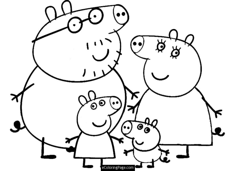 free printable coloring peppa pig images on clipart library 8ieolg8ia calligraphy color coloring pages Peppa Pig Coloring Page