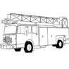 free printable fire truck coloring for kids phone sheet diy thanksgiving cards painted coloring pages Fire Truck Coloring Page