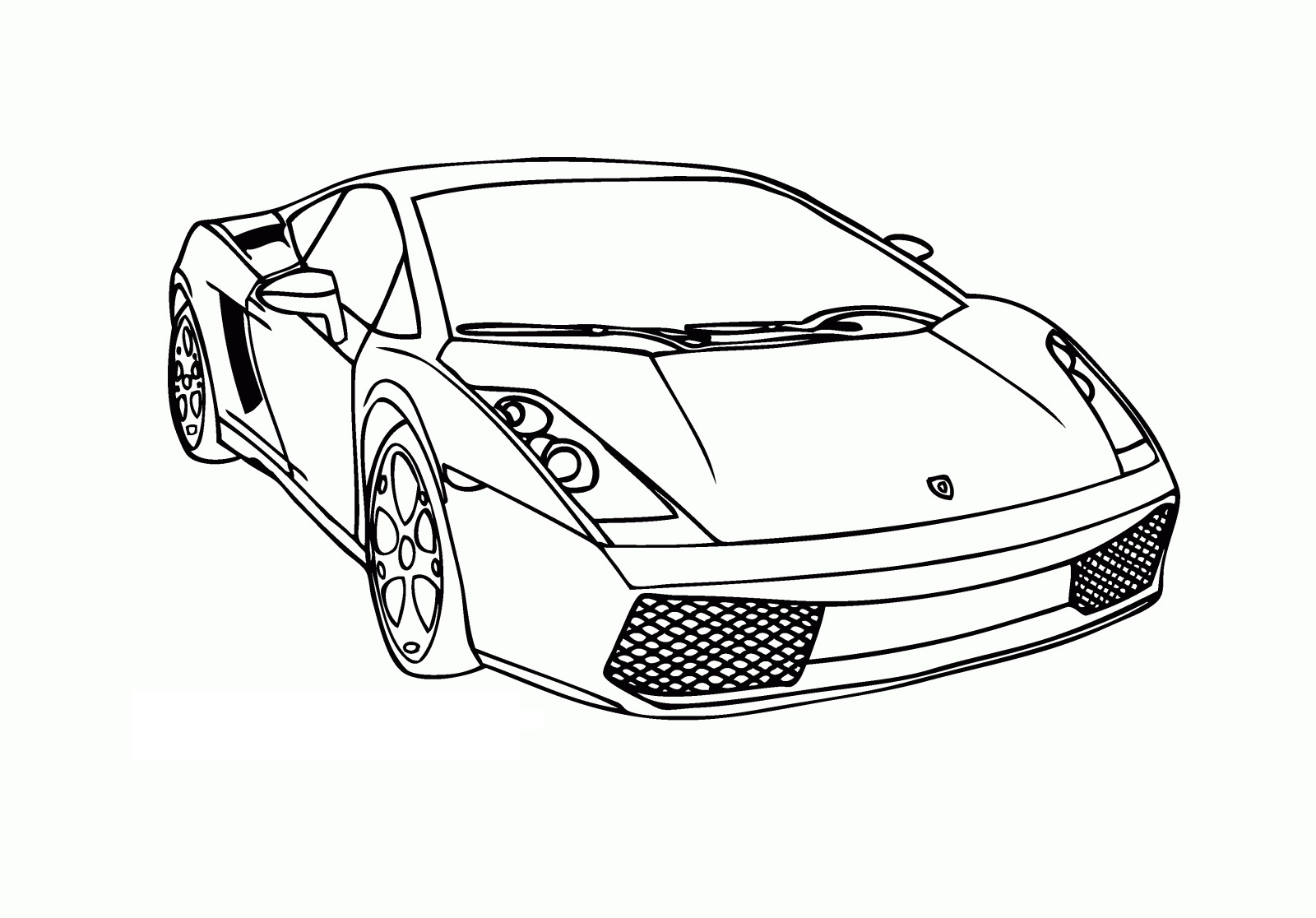 free printable lamborghini coloring for kids frozen kristoff and anna designs opposites coloring pages Lamborghini Coloring Page