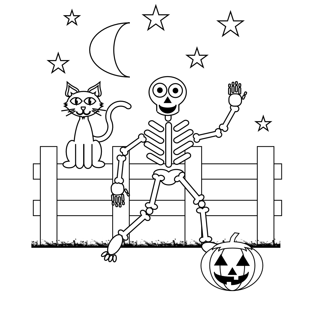 free printable skeleton coloring for kids purple thermoflask christmas sheet color by coloring pages Skeleton Coloring Page