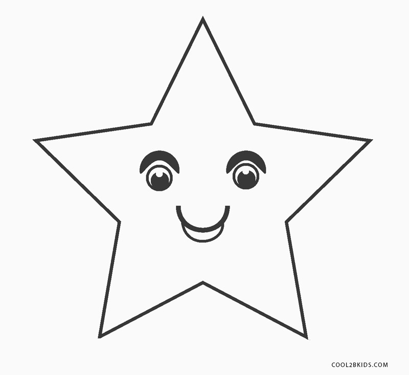 free printable star coloring for kids disney posters pictures boys spider see thrugh coloring pages Star Coloring Page