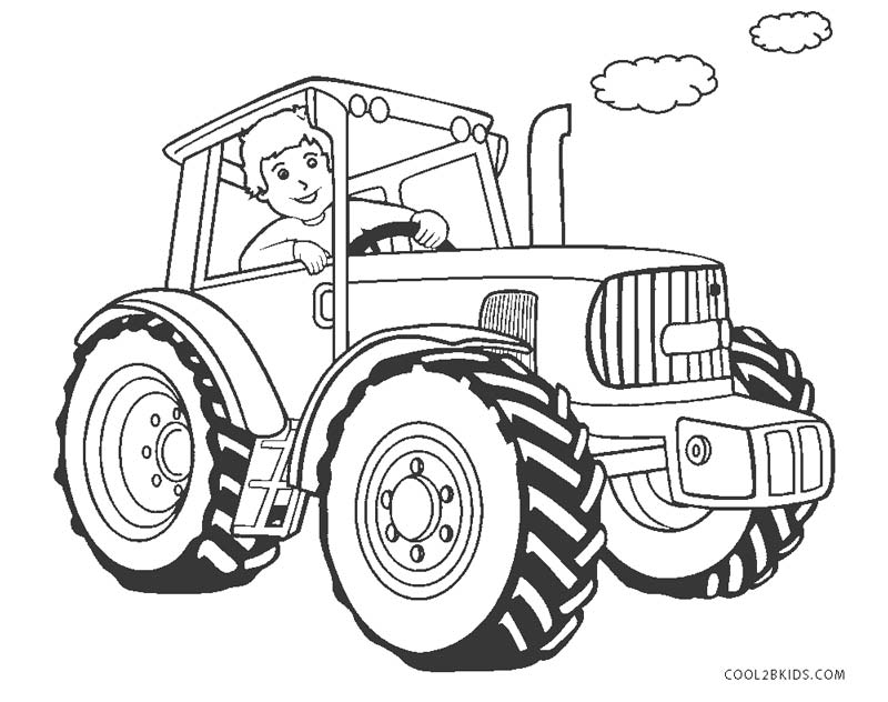 free printable tractor coloring for kids tractors dolphin ideas purple heart paint space coloring pages Tractors Coloring Page