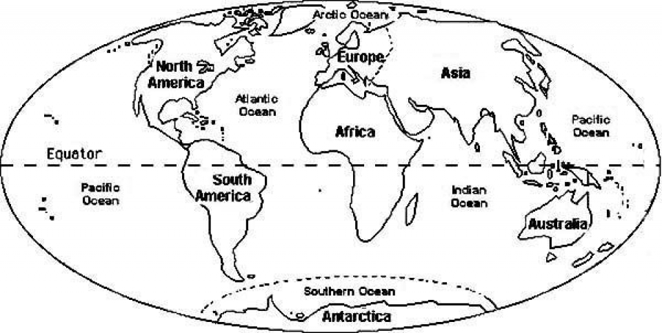 free printable world map coloring everfreecoloring to print for kids aiwkr science craft coloring pages World Map Coloring Page