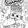 fry and cheddar shopkins coloring for kids adults shopkins1 easter sheets printable coloring pages Shopkins Coloring Page