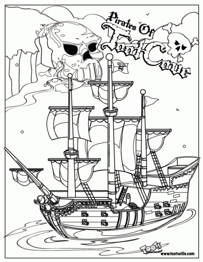 get this pirate ship coloring rapunzel images to print preschool classroom supplies pink coloring pages Pirate Ship Coloring Page