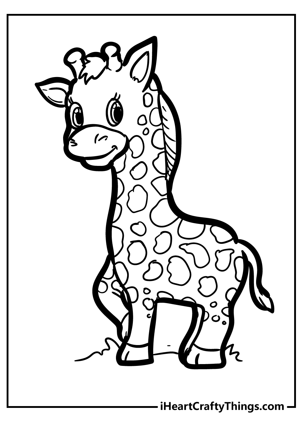 giraffe coloring updated girraffe pic of cursive letters free color unicorn monument coloring pages Girraffe Coloring Page