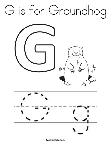 is for groundhog coloring twisty noodle 468x609 q85 of disney handprint ideas halloween coloring pages Groundhog Coloring Page