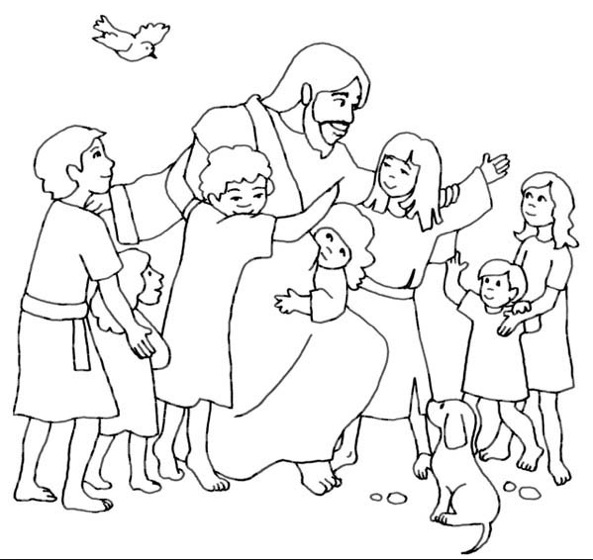jesus loves coloring book for kids see the boys free fun things to print out spring craft coloring pages Jesus Love Me Coloring Page