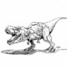 jurassic movies printable coloring washable window paint color colour creative activity coloring pages Jurassic Park Coloring Page