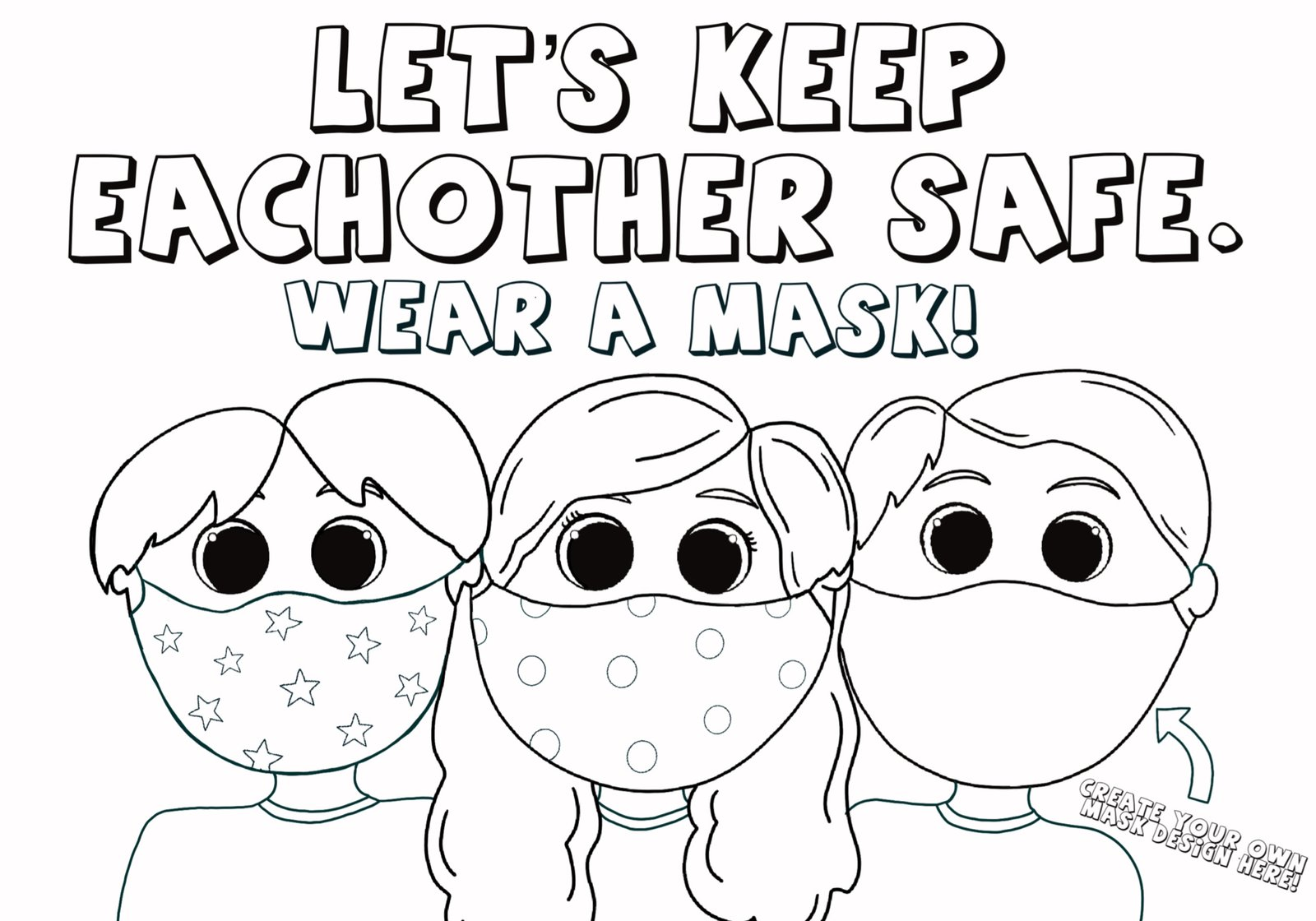 kids wearing masks coloring woolies for 1600x crayola crayon color chart capital in coloring pages Coloring Page For Kids