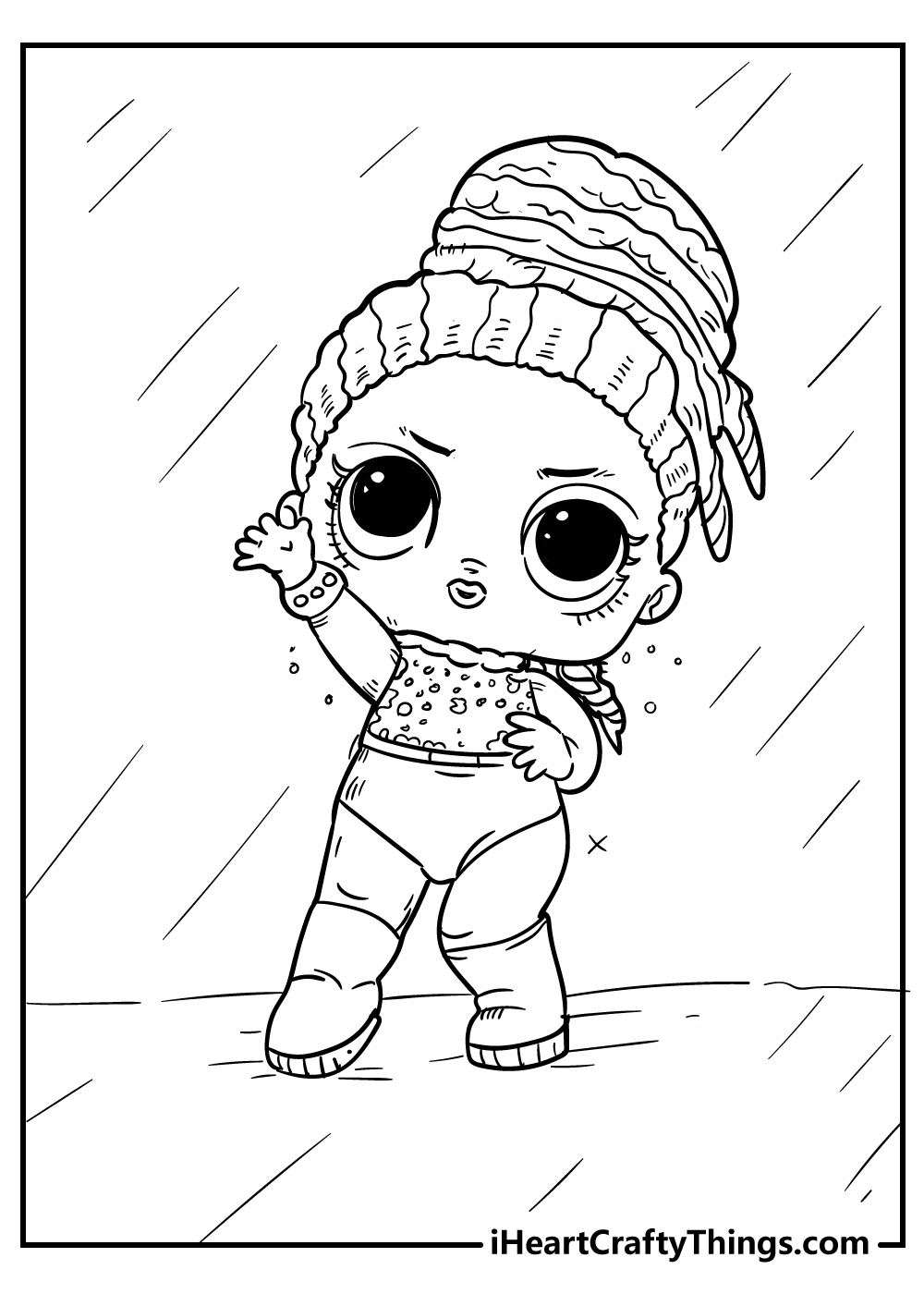 lol doll coloring updated fun sheets dolphin pictures to color happy thanksgiving shapes coloring pages Lol Doll Coloring Page
