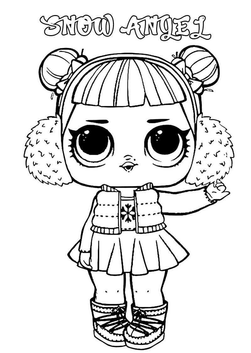 lol surprise dolls coloring print them for free all the series raskrasil mountans rivers coloring pages Lol Coloring Page