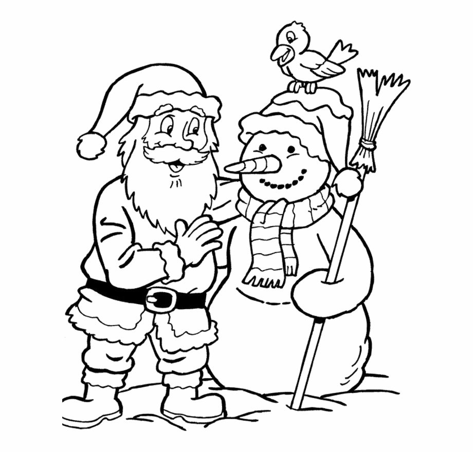 merry christmas words coloring with santa claus transparent vippng kids books capital coloring pages Santa Coloring Page
