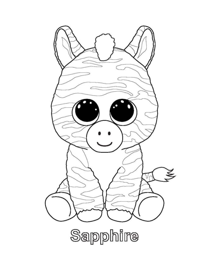 monaicyn kitchen ideas beanie boo coloring owl diy hanging planter color pdf snowman to coloring pages Beanie Boo Coloring Page